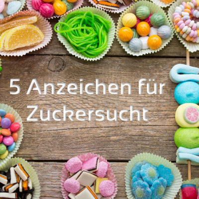 5 Anzeichen für Zuckersucht