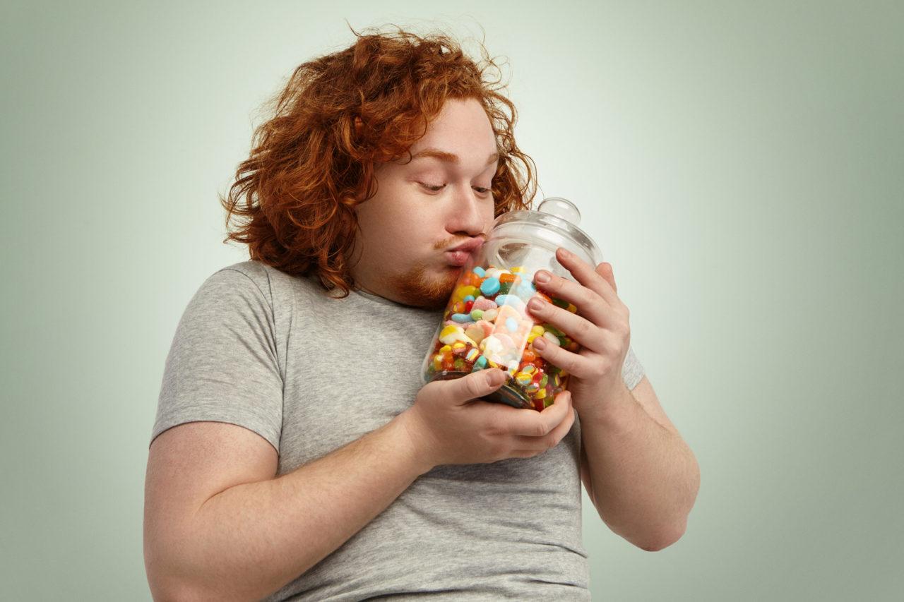 Sind Sie zuckersüchtig? Zucker ist eine Sucht.