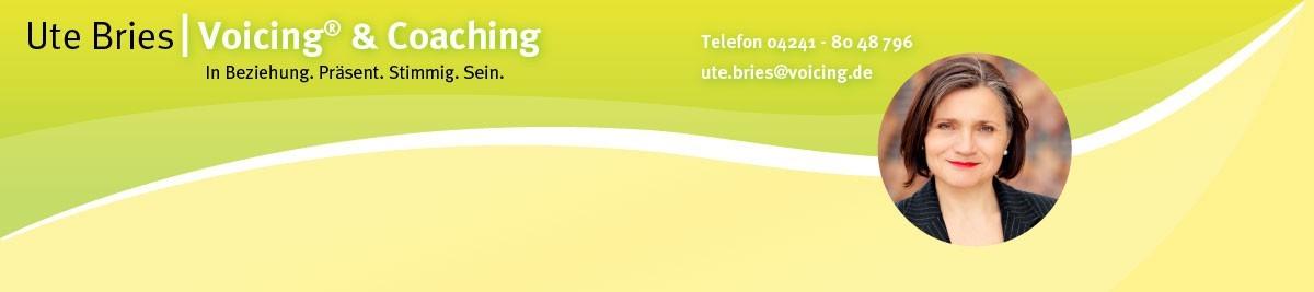 Ute Bfries Voicing und Coaching