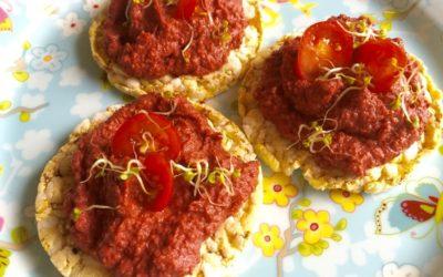 Rotes Hummus